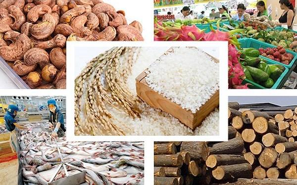 4 tháng đầu năm, xuất khẩu nông sản đạt 17,15 tỷ USD