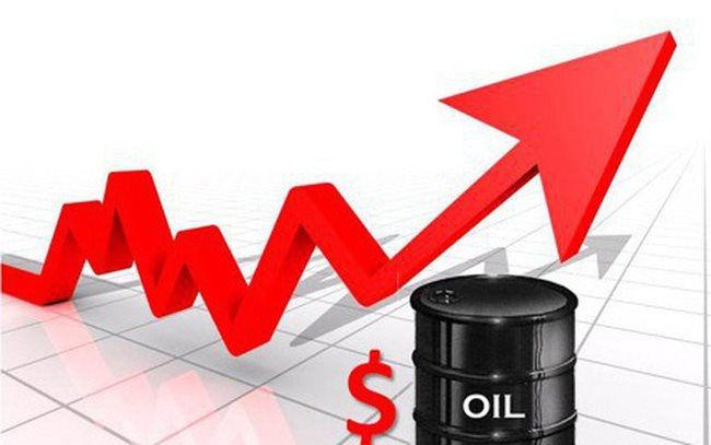 Giá dầu thô tăng mạnh nhờ sự thúc đẩy từ nhiều yếu tố