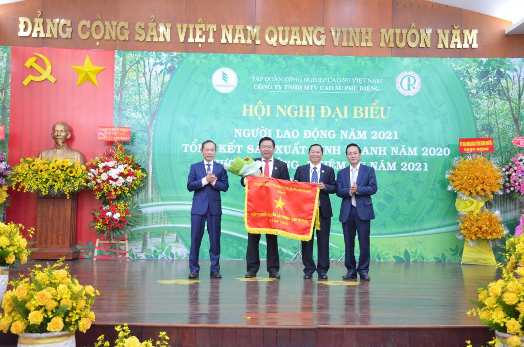 Cao su Phú Riềng xuất sắc toàn diện năm 2020