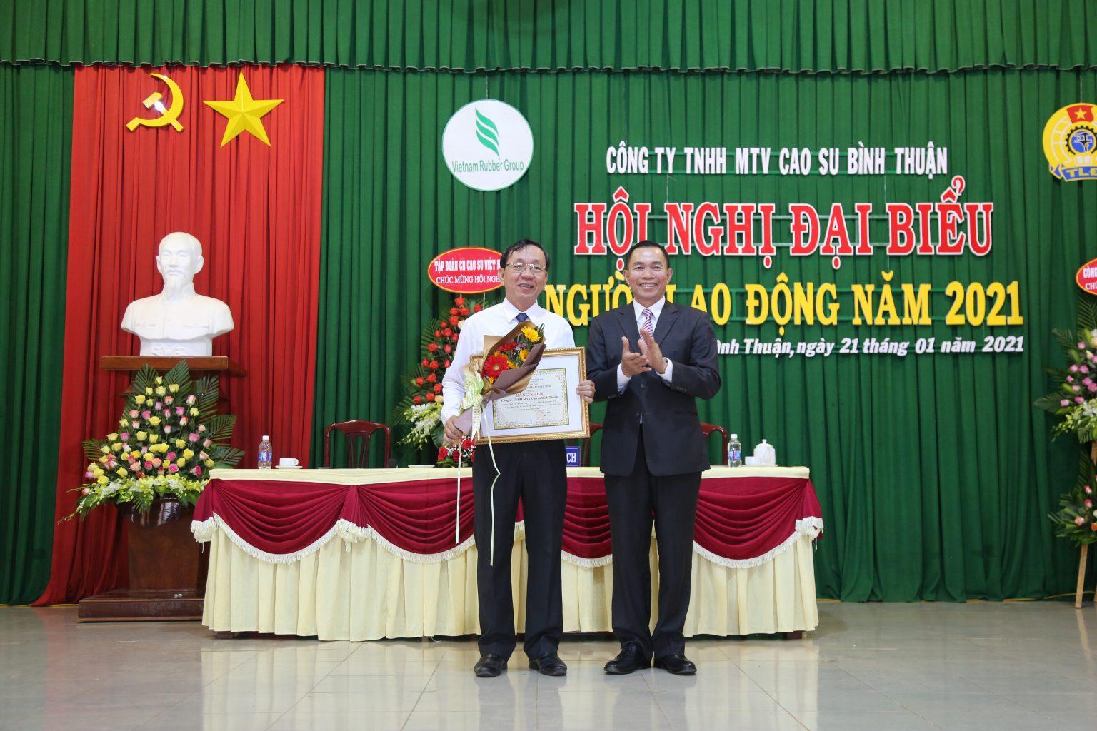 Cao su Bình Thuận nỗ lực vượt khó, chăm to tốt đời sống người lao động