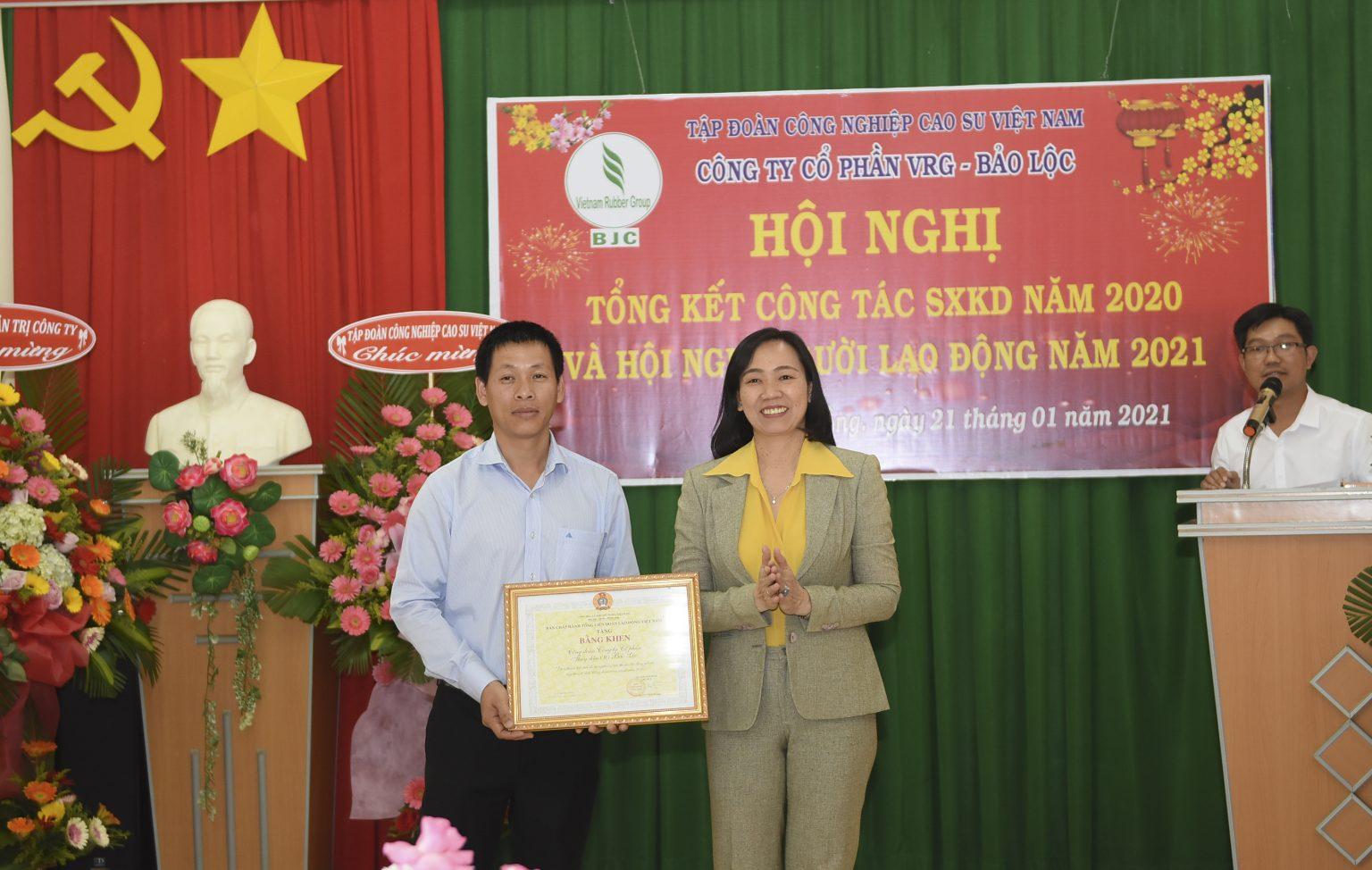 VRG Bảo Lộc – Thu nhập bình quân trên 20 triệu đồng