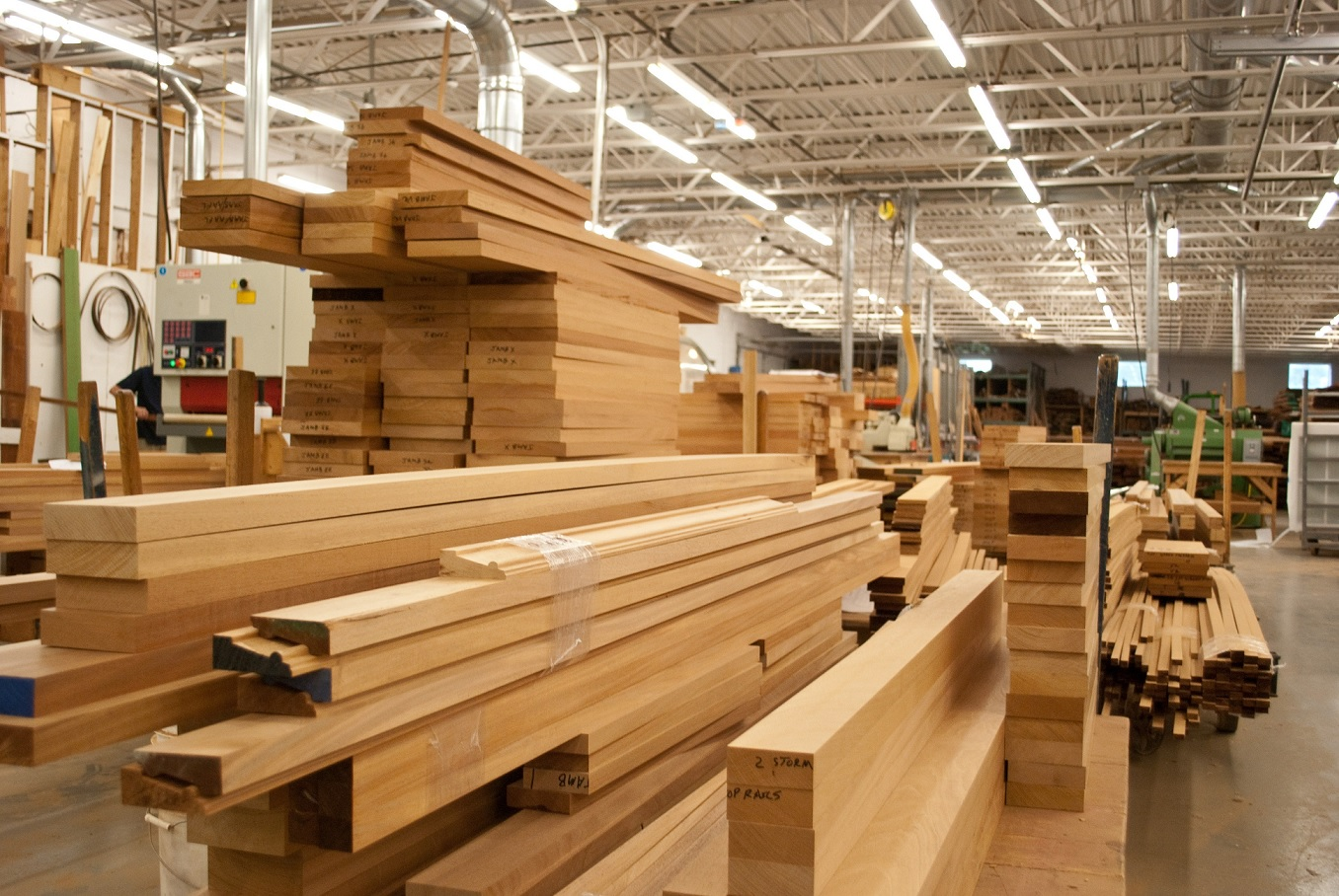 Doanh nghiệp xuất khẩu gỗ vẫn làm ăn phát đạt trong năm COVID-19