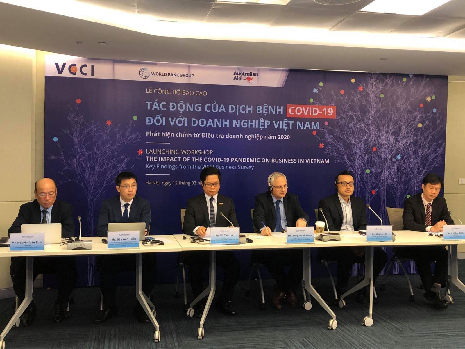 Báo cáo Tác động của dịch bệnh COVID-19 đối với doanh nghiệp Việt Nam: Gần 90 % doanh nghiệp bị ảnh hưởng tiêu cực