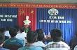 Nam Đông: Khai giảng lớp sơ chế mủ cao su năm 2013