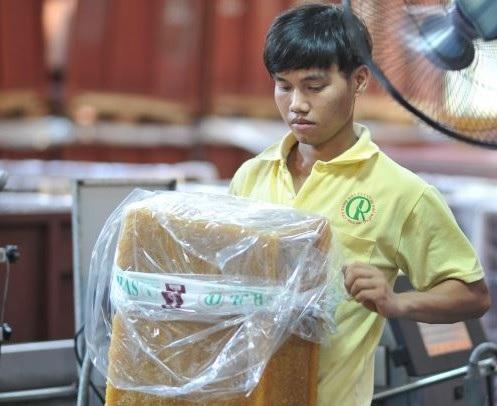 Cao su Phú Riềng xây dựng thương hiệu bằng chất lượng sản phẩm