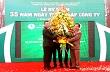 Công ty cao su Phú Riềng kỷ niệm 35 năm thành lập