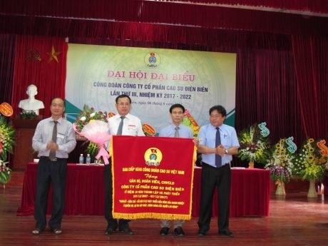 Thu nhập người lao động Cao su Điện Biên vượt chỉ tiêu