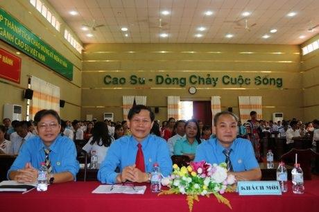 Cao su Đồng Phú tuyên dương 200 công nhân ưu tú