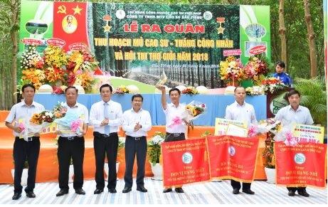 Nông trường Minh Thạnh lập cú đúp giải thưởng
