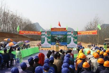 Cao su Sơn La khởi công xây dựng nhà máy chế biến