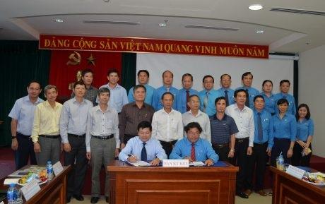 Sự phối hợp với Tổng Giám đốc VRG giúp nâng cao hiệu quả hoạt động Công đoàn CSVN