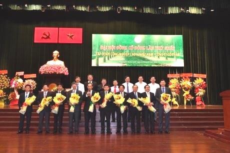 Ông Trần Ngọc Thuận giữ chức Chủ tịch HĐQT, ông Huỳnh Văn Bảo giữ chức TGĐ VRG – Công ty cổ phần