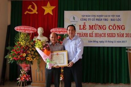 VRG Bảo Lộc hoàn thành kế hoạch trước 54 ngày